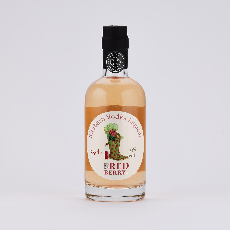 35cl Rhubarb Vodka Liqueur