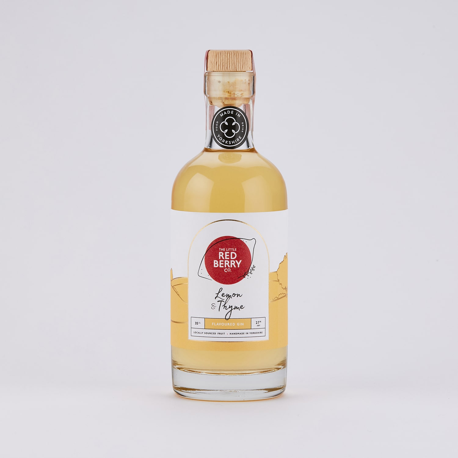35cl Lemon & Thyme Flavoured Gin