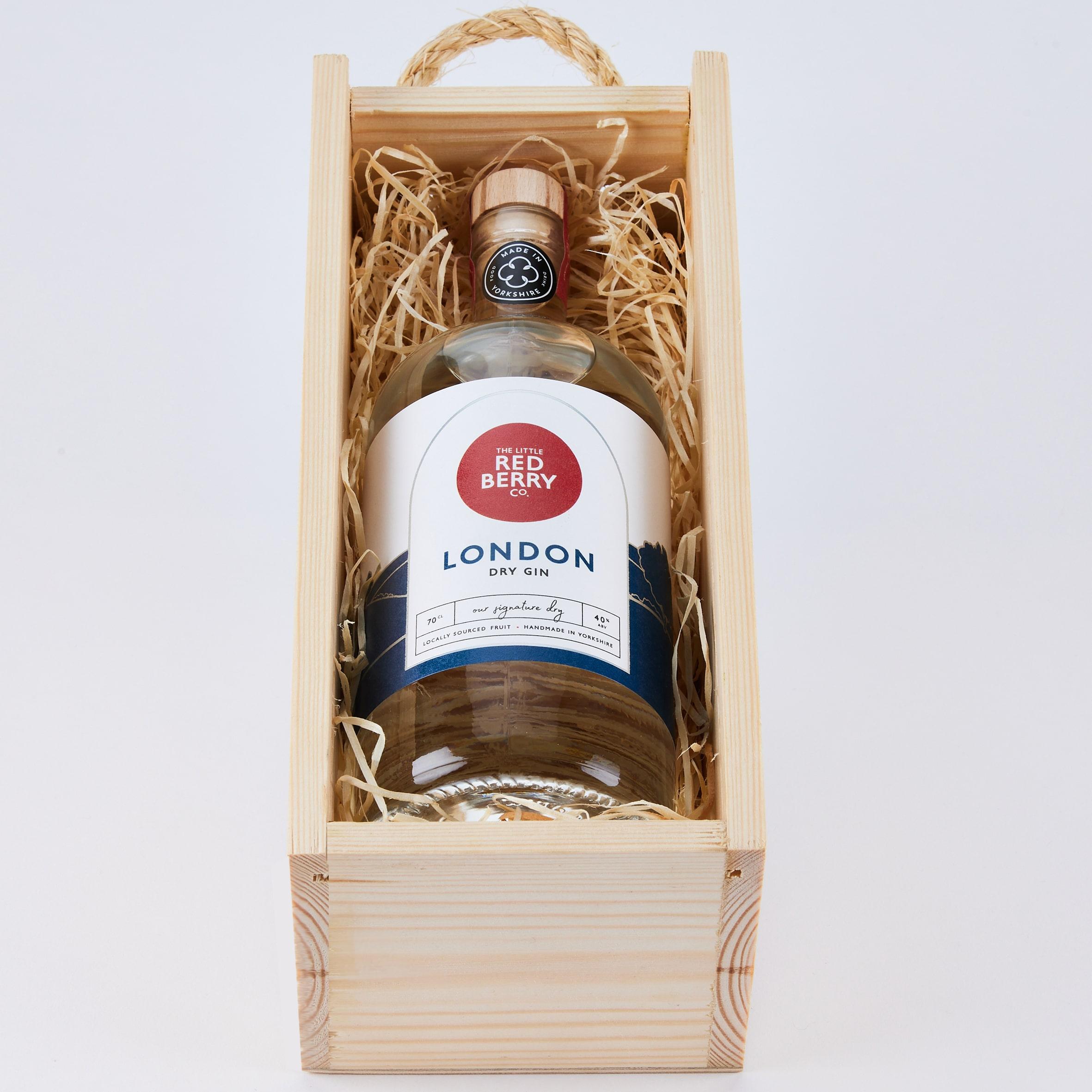 10th Anniversary Wooden Box - London Dry Gin